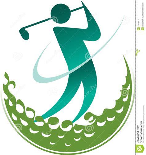 design a golf logo free logo de golfeur images stock image 27006434