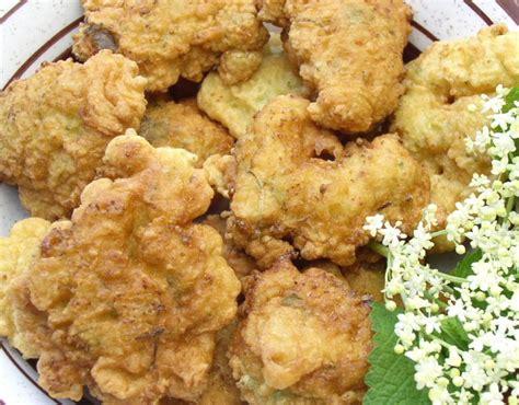 fiori di sambuco ricette ricetta frittelle di sambuco
