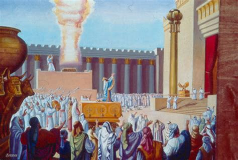 libro jerusalem chronicles from the the temple institute gallery solomon dedicates the first temple