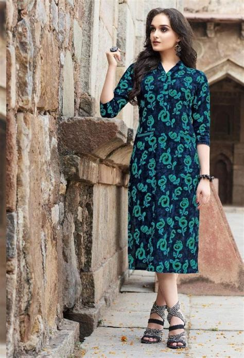 cotton kurti designs  hd pictures