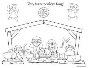 nativity coloring page 17 best ideas about nativity coloring pages on
