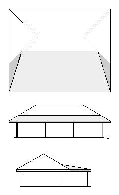 How To Add A Hip Roof Addition Adding A Porch To A Hip Roof House Remodeling