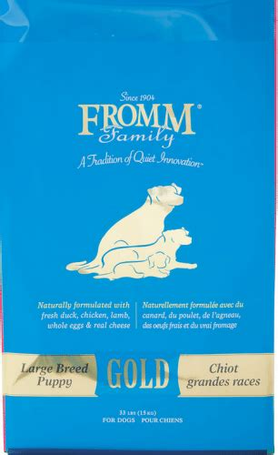 fromm puppy gold fromm gold large breed puppy food petflow