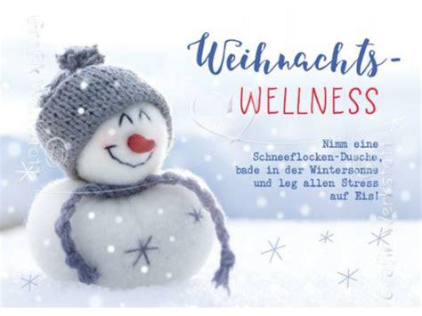 karten werkstatt postkarte weihnachts wellness grafik werkstatt postkarte