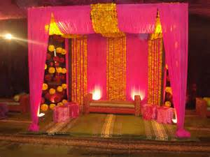 Stage Decorations by Mehndi Stage Designs Mehndi Stage