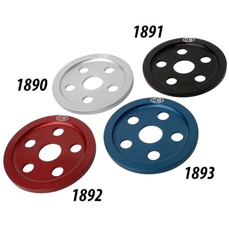 billet color billet pulley cover santana style specify color