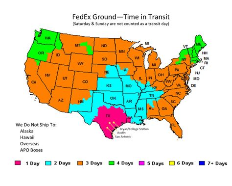 fedex shipping map fedex freight transit results autos post