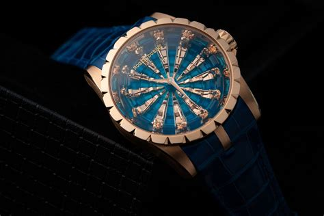 Roger Dubuis Excalibur World Time Silver roger dubuis launches excalibur knights of the table iii