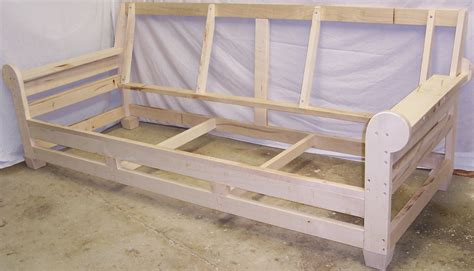 couch frame plans build wooden sofa frame designs plans download small