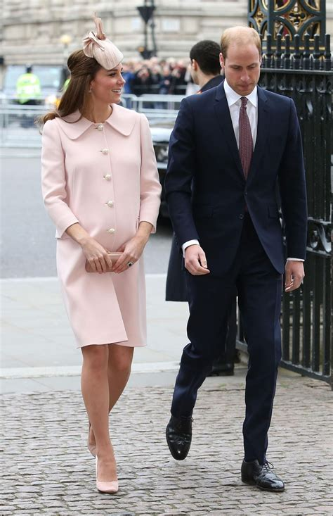 kate middleton at observance for commonwealth day service