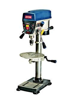 bench drill press review ryobi 12 quot benchtop drill press wood magazine