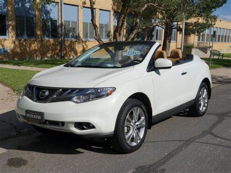 nissan awd convertible 2011 nissan murano crosscabriolet base awd 2dr suv