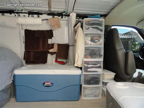 van living vanabode van construction details