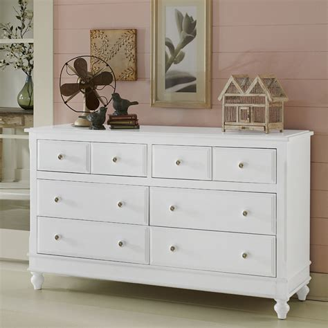 White Dresser by White Lake House 8 Drawer Dresser Rosenberryrooms