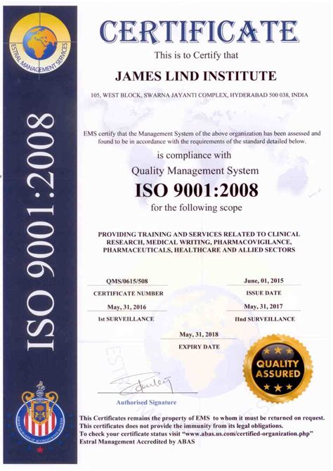 iso certification announcement letter sle request letter for certificate sle foia