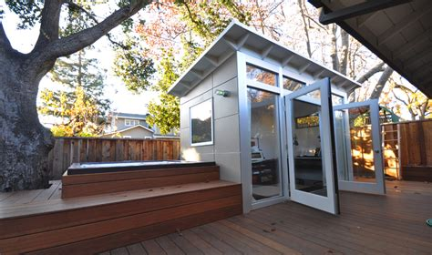 prefab backyard rooms studios storage home office