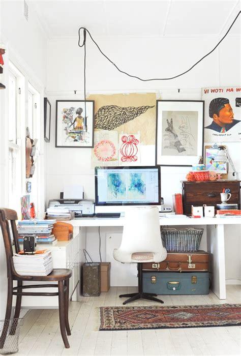 20 creative and inspiring eclectic vintage room designs by ideas para rincones de trabajo en casa