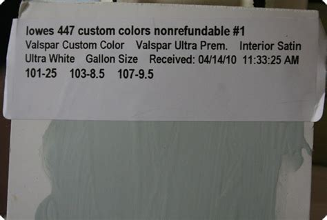secret paint formula poll 320 sycamore