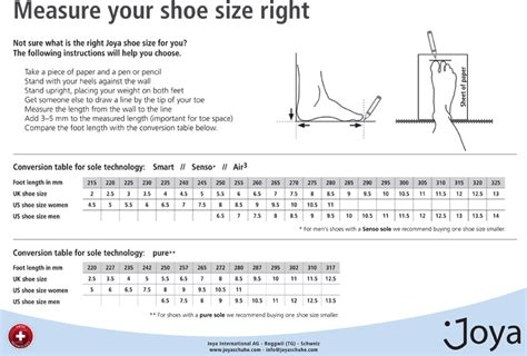 shoe size chart how to measure how to measure your foot width for shoes style guru