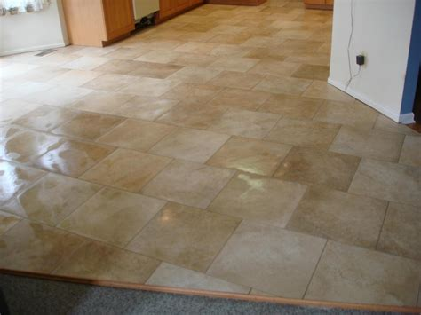 Porcelain Kitchen Floor Tiles Porcelain Kitchen Tile Floor New Jersey Custom Tile