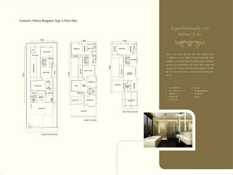 floor plan bungalow type november 2011 penang property talk