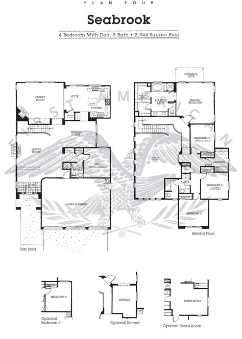 nantucket floor plan nantucket at calavera hills floor plan for residence 4