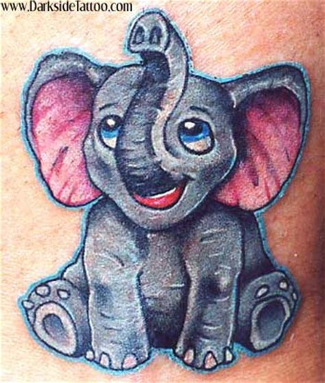 new school hippo tattoo looking for unique small stuff tattoos tattoos baby elephant