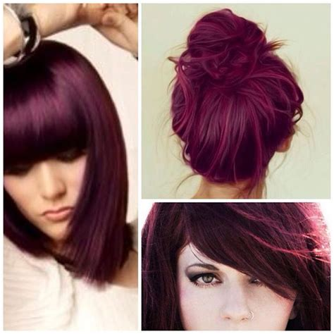 eggplant color hair 1000 ideas about eggplant hair on eggplant