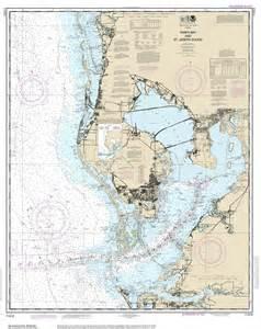 modern nautical maps of florida 80 000 scale nautical charts