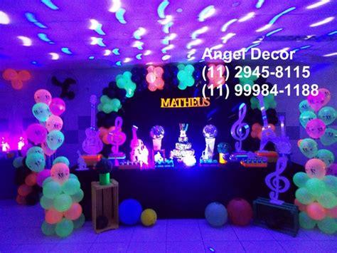 Monster High Home Decor by Uol Mais Gt Balada Neon Decora 231 227 O Festa 15 Anos Mesa Bolo