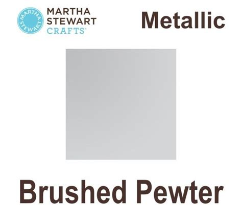 martha stewart paint allround metallic brusched pewter hobbyworld se