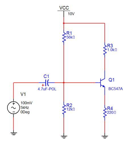 bjt transistor in pspice transistor bc547 pspice 28 images hoparl 246 r geciktirme devreleri elektronik devreler