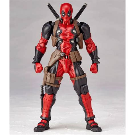 Istimewa Dompet Marvel Deadpool Model 3 Import marvel deadpool amecomi amazing yamaguchi legacy of revoltech nin nin all