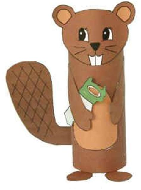 beaver crafts for kids ideas to make beavers with easy 110 best images about toilet paper roll crafts animals