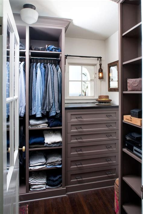 Walk In Closet Drawers by Built In Storage Fixtures Provide Maximum Storage In This