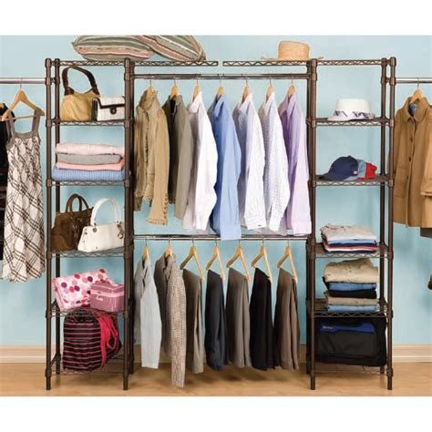 Expandable Closet Organizer by Seville Classics Expandable Closet Organizer