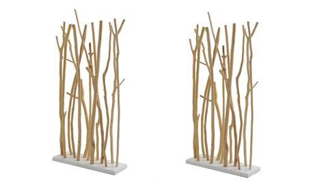 Raumteiler Aus Holz by Raumteiler Mahagoni Schichtschutz Holz Wei 223 George