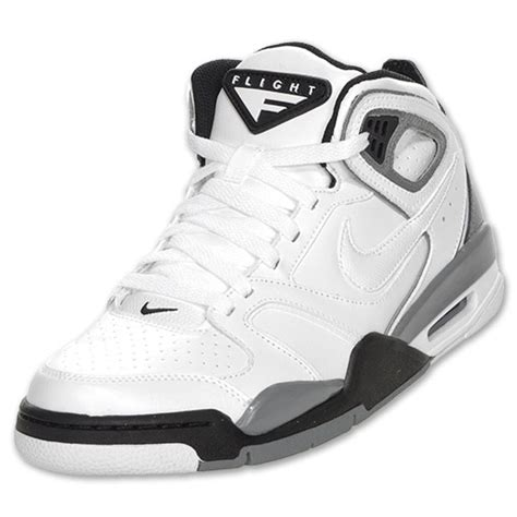 nike air flight falcon mens basketball shoes s nike air flight falcon basketball shoes white grey