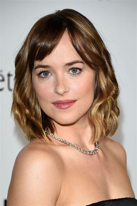 how to cut bangs like dakota johnson the 50 best bangs for fall 2015 daily makeover
