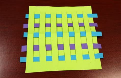 Paper Weaving Crafts - colorful paper weaving crafts your should learn jam