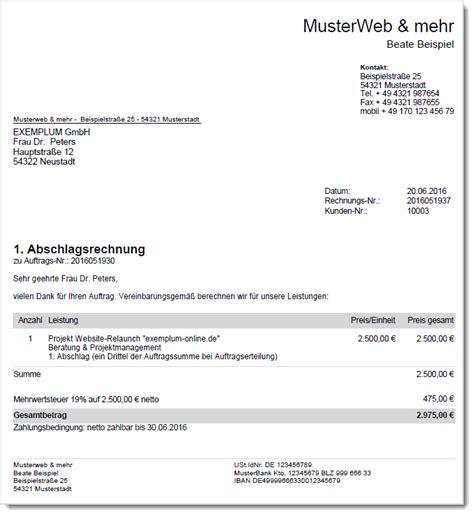 Kleinunternehmer Rechnung Nicht Eu Ausland rechnungen de rechnungen im deutschen umsatzsteuer recht