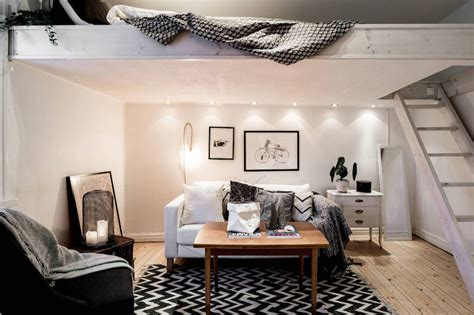podest sofa small apartment meets relaxed scandinavian design
