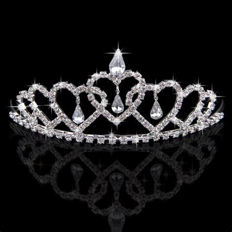 Wedding Crown wedding bridal tiara rhinestone crown veil headband tiara pageant ebay