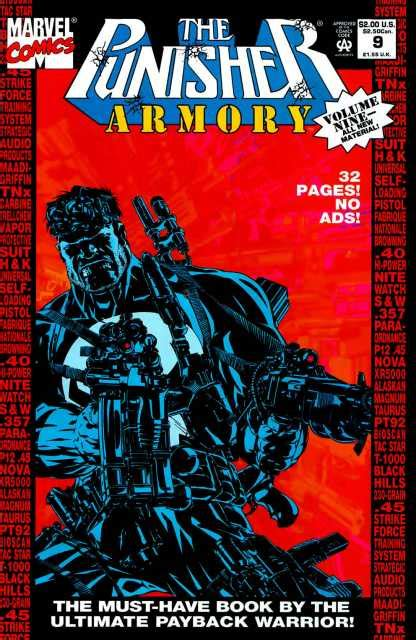 the punisher volume 1 the punisher armory 1 volume one issue