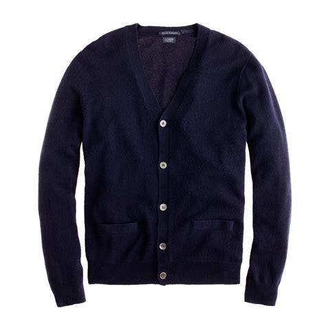 navy sweater j crew italian cardigan sweater in blue for