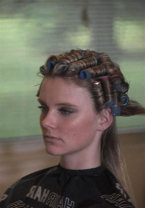 she set his hair in curlers she set his hair in rollers how i style my 1930s hair