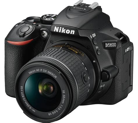 buy nikon d5600 dslr with dx 18 55 mm f 3 5 5 6g vr lens free delivery currys