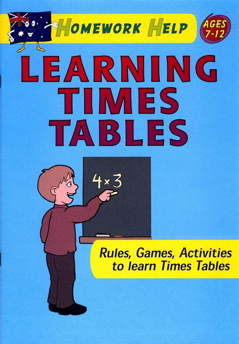 Learn Times Tables by Learning Times Tables Burrabooks Australian Educational Books