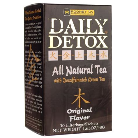 Green Envy Daily Detox Weight Loss by Daily Detox All Tea With Decaffeinated Green Tea