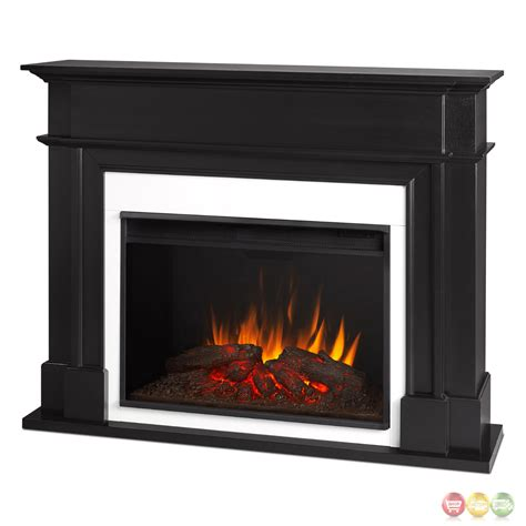 electric led fireplace harlan grand electric led fireplace black 5100btu